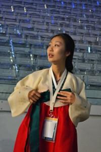 Korean Delegate at Opening Ceremony