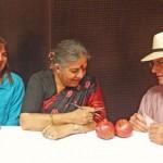 Vandana-Shiva with Cindy and Stephen
