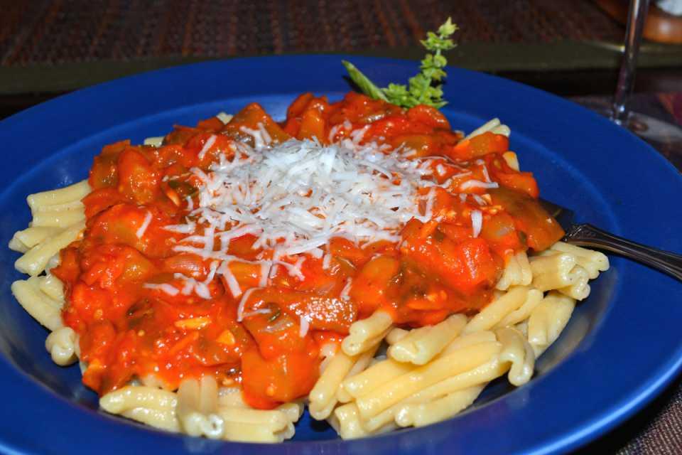 Sicilian Eggplant and Tomato Sauce | Terroir Seeds