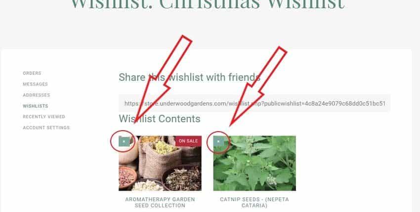 Updating Wishlist