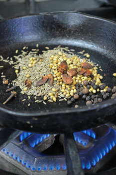 Toasting Spices