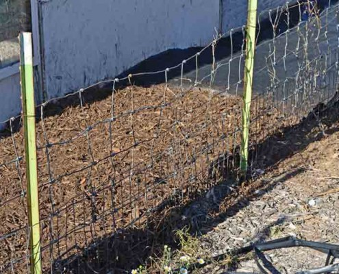 Weed Barrier Installation Finished