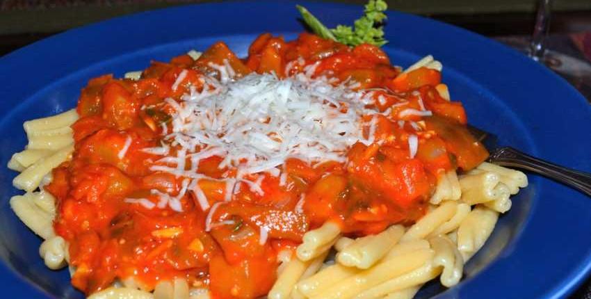 Sicilian Eggplant and Tomato Sauce