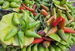 Chile de Agua In Market