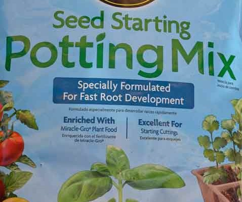 Miracle Gro Seed Starting Mix