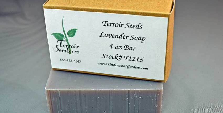Handmade Organic Lavender Soap